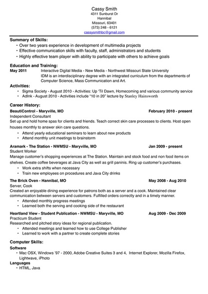 Attractive Media Planning Resume Event Planning Resume Planner Resume Event And Media Planner Resume